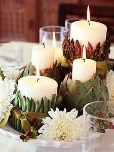 Thanksgiving, Candle, Centerpiece, Idea