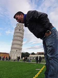 Being Dirty With The Leaning Tower Of Pisa