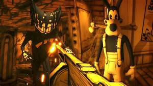 Killing Bendy With The Tommy Gun   Boris Secret Weapon