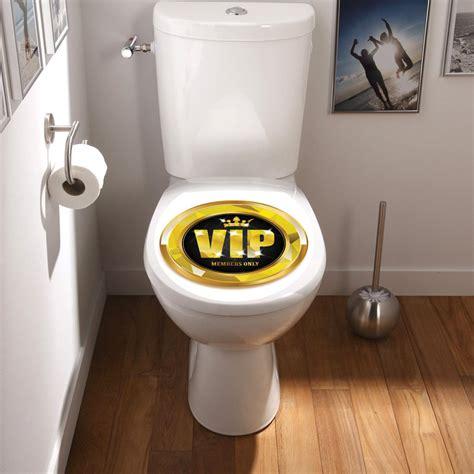 sticker abattant toilette vip stickers toilettes abattants wc ambiance sticker