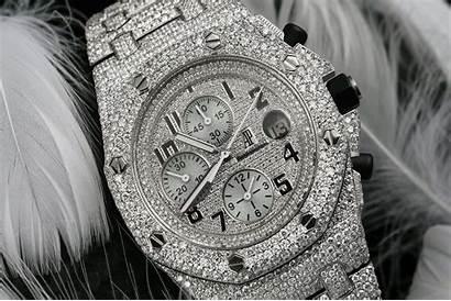 Iced Oak Royal Offshore Piguet Audemars Uhren