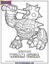 Coloring Skylanders Colouring Swap Force Skylander Wham Sheets Coloriage Shell Ninjini Coloringhome Fist Printables Bump Trigger Happy Bang Colour Swapforce sketch template