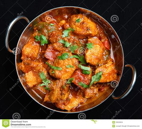 curry cuisine indian chicken jalfrezi curry food stock photo image of