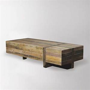 emmerson block coffee table west elm furniture With west elm emmerson reclaimed wood coffee table
