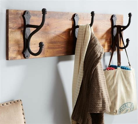 overscaled row of hooks traditional wall hooks by