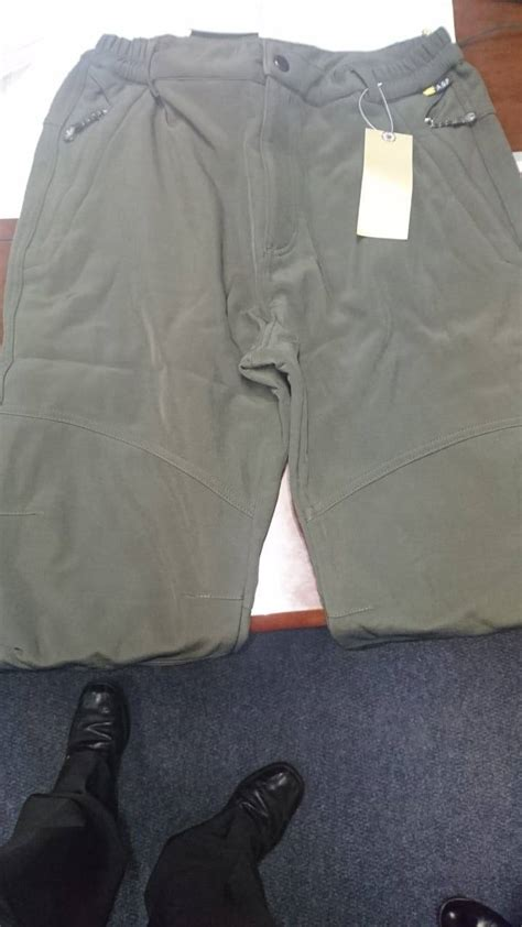 mens outdoor thick fleece water resistant pants images bottoms images