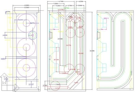 Transmission Line Speaker Plans