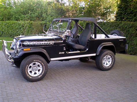 jeep scrambler 1982 the jeep scrambler red clay soul