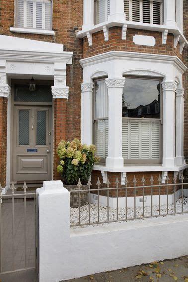 front door  dulux chalky downs  grey front door