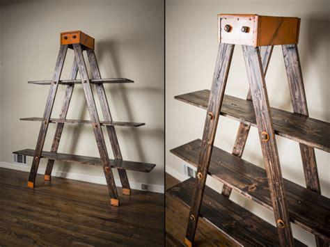 A-frame Ladder Shelf By Anton Maka Designs » Retail Design