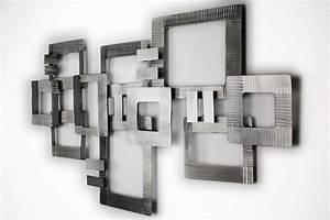 Wanddeko Metall Modern Wanddekoration Wanddeko Wand