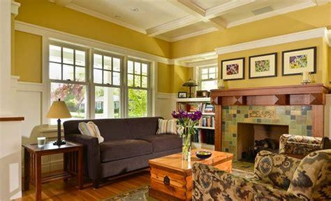 warm craftsman living room designs home design lover
