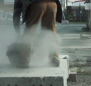 rock dust   asbestos speaking  safety