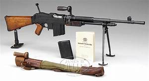 Priced In Auctions   Ds Fn Model D Machine Gun Pre 86