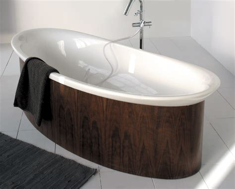 wooden sinks and bathtubs luxury bathtubs in wooden finish by lacava digsdigs
