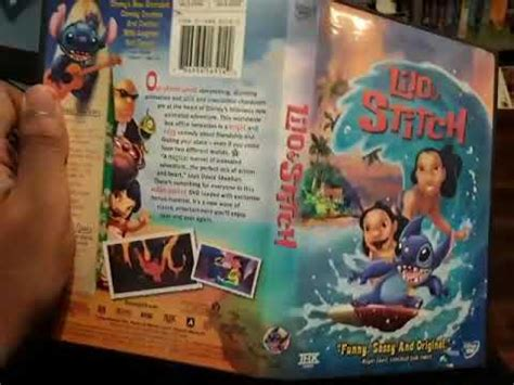 Lilo & stitch 2 movie & dvd details. Lilo & Stitch 2002 Special Edition DVD Review - YouTube