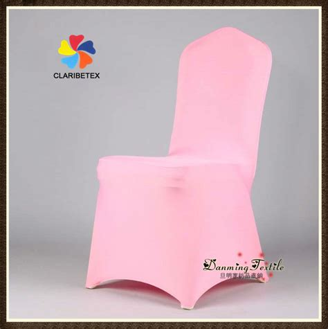 wholesale lycra spandex wedding chair cover in pink view