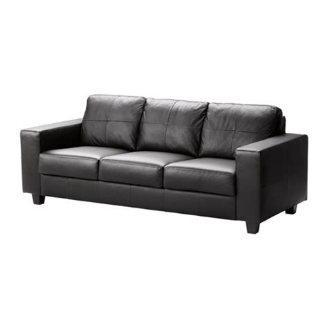 canape cuir ikea skogaby sofa glose bomstad black ikea