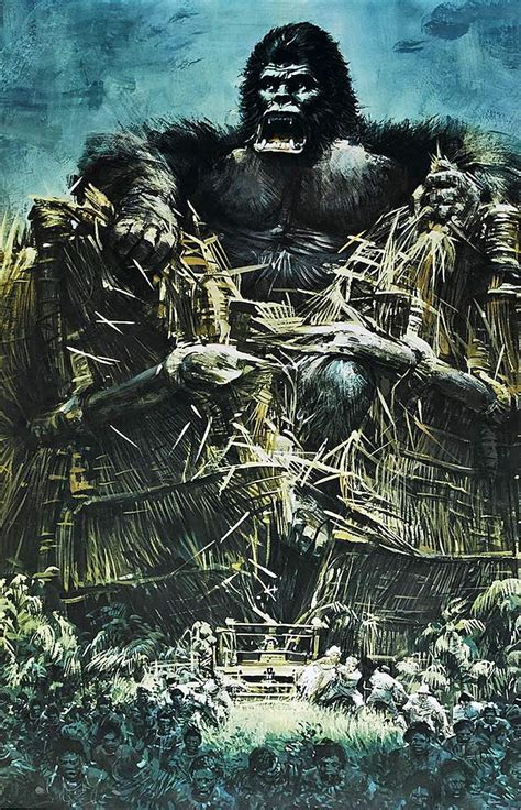 Carl and ann's new love, jack driscoll must travel through the jungle looking for kong and ann, whilst avoiding. KING KONG 1976 - poster art : kingkong