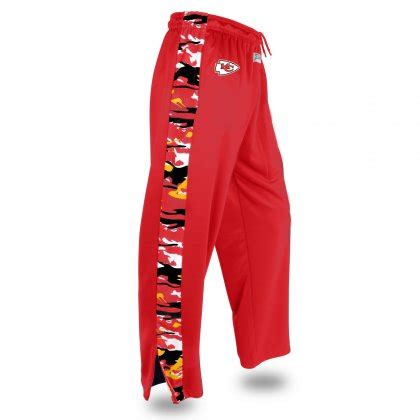 The designers formed their company with the slogan dare to be different, and in that spirit they made their pants with crazy designs. Kansas City Chiefs Camo Stadium Pant | Red/Gold | Zubaz Store