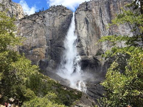 Upper Yosemite Falls National Park Captured