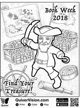 Coloring Piraat Pirat Quiver Kleurplaat Malvorlage Stimmen Stemmen sketch template