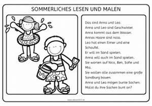 Zeichnen Am Pc Lernen : sommerliches lesen und malen ~ Markanthonyermac.com Haus und Dekorationen