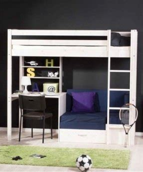 Loft Bed With Sofa Underneath by Futon Bunk Bed With Desk Foter