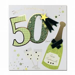 Faire Part Anniversaire 50 Ans : carte invitation anniversaire 50 ans carte invitation ~ Edinachiropracticcenter.com Idées de Décoration