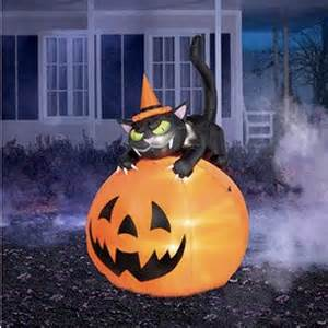 yard blow up halloween pinterest