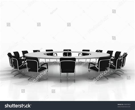 13612 business meeting table business large meeting conference table chairs stock