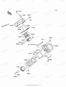Kawasaki Side By Side 2008 Oem Parts Diagram For Cylinder