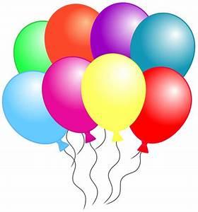Birthday Balloons Clip Art Free - Cliparts.co
