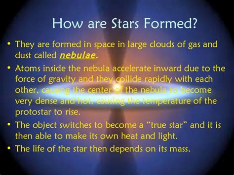 what are stars formed from geo 204 stars and constellations1