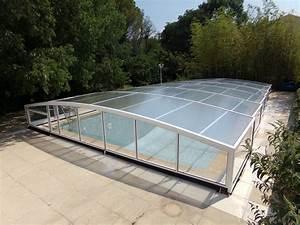 Abri Piscine Bas Coulissant : abri piscine bas ~ Zukunftsfamilie.com Idées de Décoration