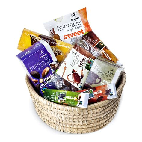 de oxfam fair trade office geschenkmand geschenk giftbe