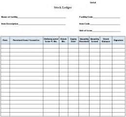 Ledger Template Excel Corporate Stock Ledger Template Best Template Design Images