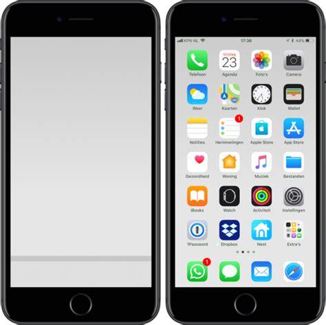 iphone 5s opnieuw instellen