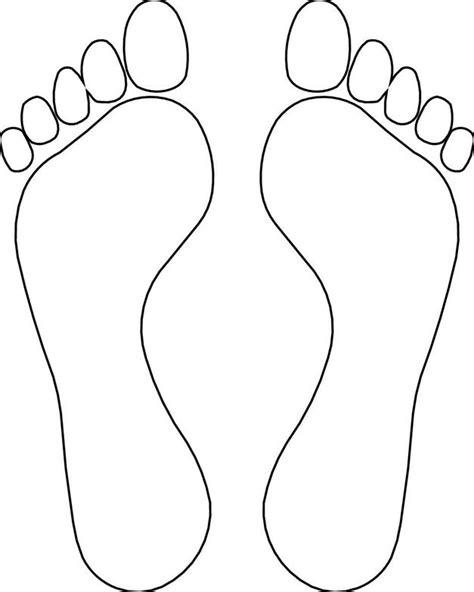 Footprints Template by Drawings Of Footprints Clipart Best