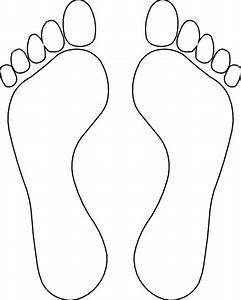 Footprint Outline Clip Art - Cliparts.co