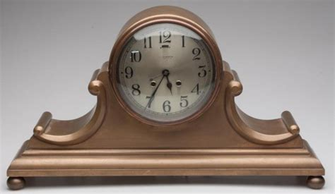 Chelsea Tambour No. 5 Brass Mantel Clock Price Guide