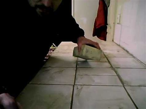 Comment Faire Joint Carrelage Metro by Comment Faire Des Joints De Carrelage Suite Youtube