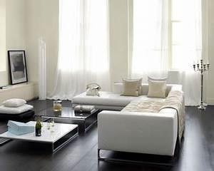 Deco Design Salon : d co salon blanc casse canap cuir design ~ Farleysfitness.com Idées de Décoration