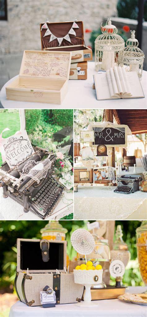 creative guestbook  sign  wedding table decor