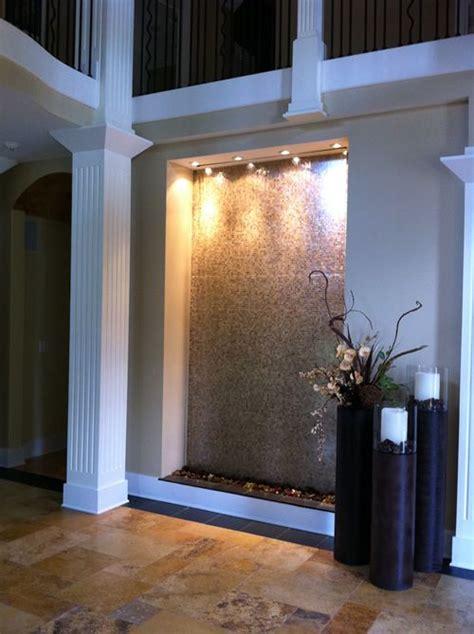 indoor waterfalls water feature wall indoor water