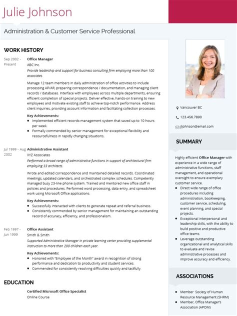 Cv Templates by Cv Templates 20 Options To Improve Your Cv Visualcv