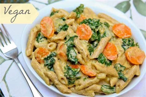 vegetarian pasta recipes best vegan recipe ever pasta with kale in lemon cashew sauce the daily dish yummy
