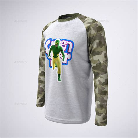 And venture makers around the world continuously try to outdo their competitors. Long Sleeve Raglan or Baseball T-Shirt Mock-Up by ...