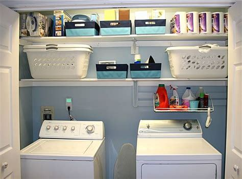 17 Best Ideas About Laundry Closet Organization On