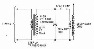 Tesla Coil Schematic Wiring Diagram